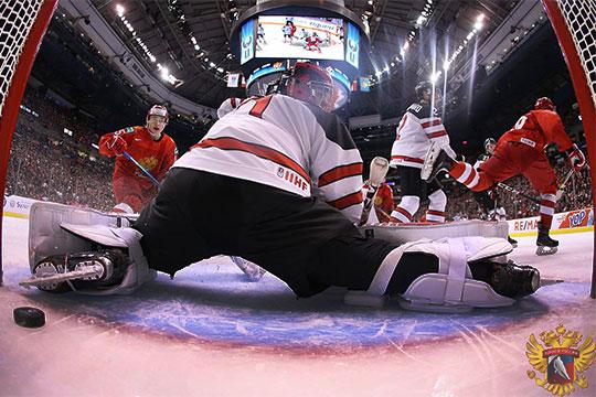 Россия обыграла Канаду вновогоднюю ночь