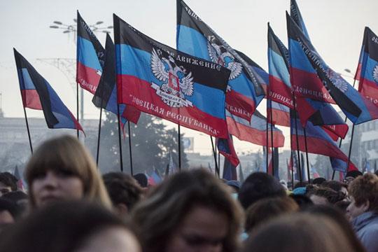 «Такой демократии, как вДонбассе, нам тоже ненадо! Даже вРостове еебудет побольше»