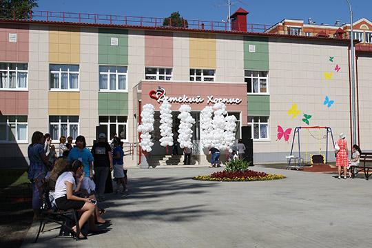 Строительство первого хосписанаАкадемика Королева, рассчитанный на35 койко-мест,обошлось в250 миллионов рублей