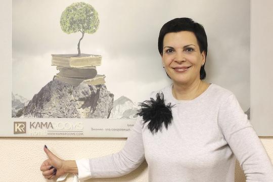Светлана Гомберг— известный вгороде отельер иресторатор, работающий собственник 4-звездочного отеля «KamaRooms» иресторана «Boho»