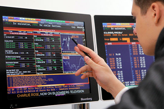 Акции«Нижнекамскнефтехима» на Московской биржевзлетели доабсолютного рекорда 104,4 рубля забумагу— на52% выше уровня открытия 11марта