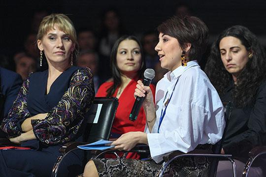 Алия Хурмановапожаловалась нато, что для самозанятых нет подходящих тендеров погосзакупкам— достаточно небольших, чтобы реализовать, неприбегая кнаемным сотрудникам