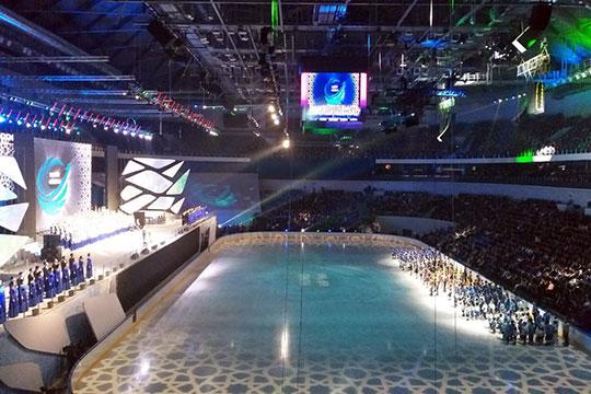 В Ташкенте открыли новый ледовый комплекс Humo Arena, на которую Узбекистан возлагает большие надежды — арена может помочь в привлечении как летних Азиатских игр (подана заявка на 2030 год), так и клубов ВХЛ и КХЛ