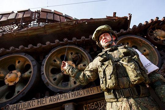 «Экскурсоводы– боевые офицеры»: вКазань прибыл «Сирийский перелом»