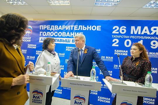 Наиль Магдеев, посути, формирует новое представительство города вГоссовете иищет замену выбывшим тяжеловесам