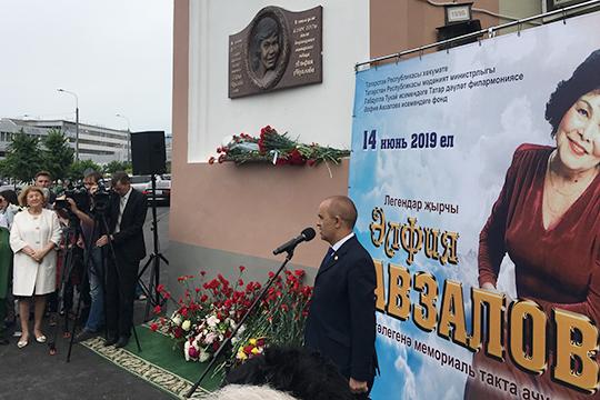 Энгель Фаттахов: «Актанышская земля дала нам Альфию Авзалову. Мы от чистого сердца гордимся тем, что представляем землю, которая дала столько деятелей татарскому народу»