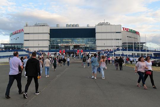 Несмотря на11тыс человек, пришедших накануне вTNA, Казань наэтот раз слегка подвелаСергея Шнурова