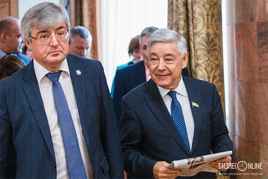 Фарид Мухаметшин (справа)
