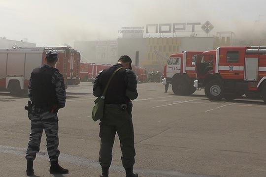 Два предпринимателя обратились варбитраж сиском овзыскании ущерба после пожара вТЦ«Порт»