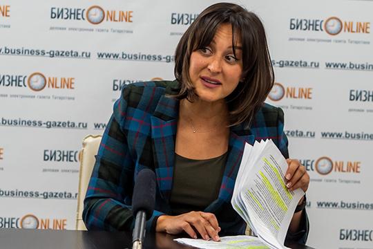 Руководитель казанского филиала сервиса HeadHunter Альбина Султанова