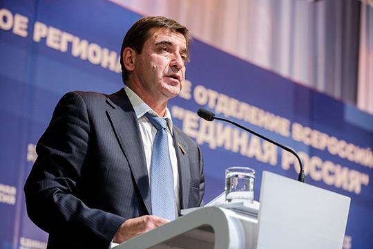Главой фракции партии в новом составе парламента глава «единороссов» снова видит Юрия Камалтынова