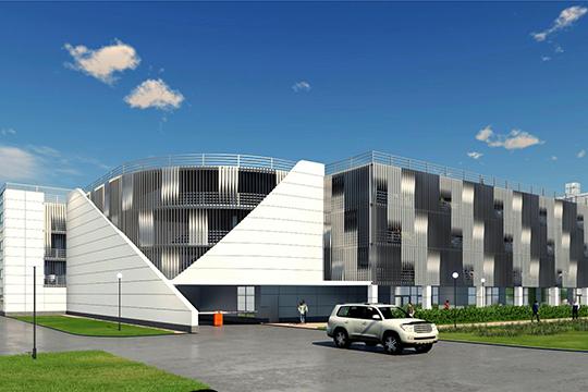 Проект многоуровневых парковок в «Домкор»