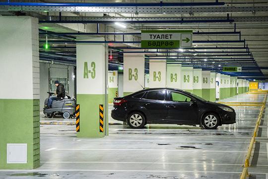«Многоуровневый паркинг— это лучше, чем иметь водворе автостоянку, когда даже надетскую площадку приходится пробиваться между машинами»,— высказали свое мнение в«Евростиле»