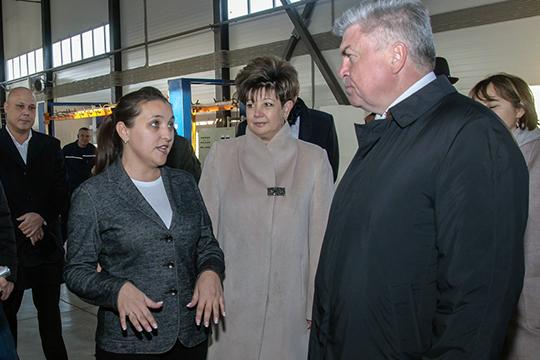 Наиль Магдеев в конце минувшей недели посетил несколько резидентов промпарка «Развитие», после которого провел рабочее совещание с руководителями индустриальных и промышленных площадок города