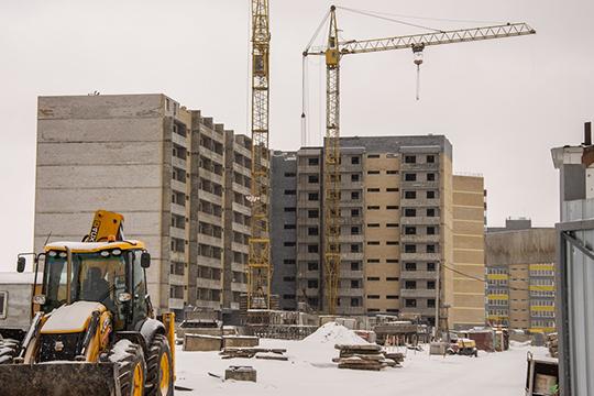 Комплекс жилых домов в 22 микрорайоне Замелекесья, пожалуй, можно назвать одним из крупнейших проектов в Челнах