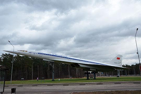 Так сегодня выглядит Ту-144 в Жуковском