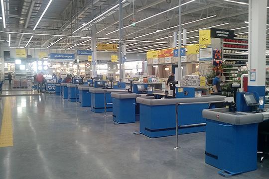 Внешне гипермаркет Castorama в Казани продолжает обычную работу.Продавцы по поводу продажи гипермаркета предпочитали не распространяться