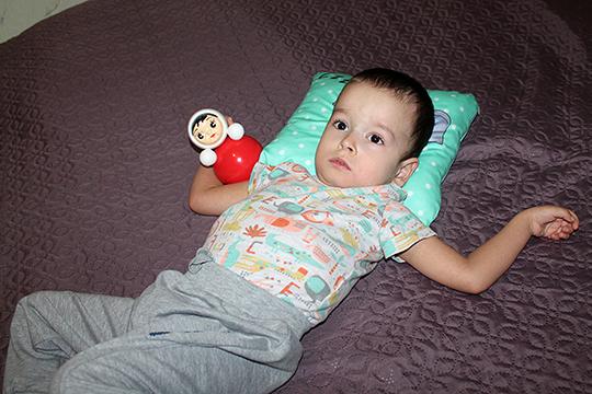 У трехлетнего Даниса Файзуллина из Казани детский церебральный паралич