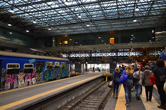 Станция городских железных дорог Монте-Санто