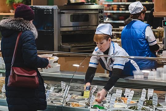 «Изюминка» супермаркетов «Бахетле» — продукция собственного приготовления
