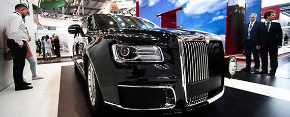 Татарстанцы купили первые Aurus, Lexus – на новой вершине, BMW уходит вотрыв